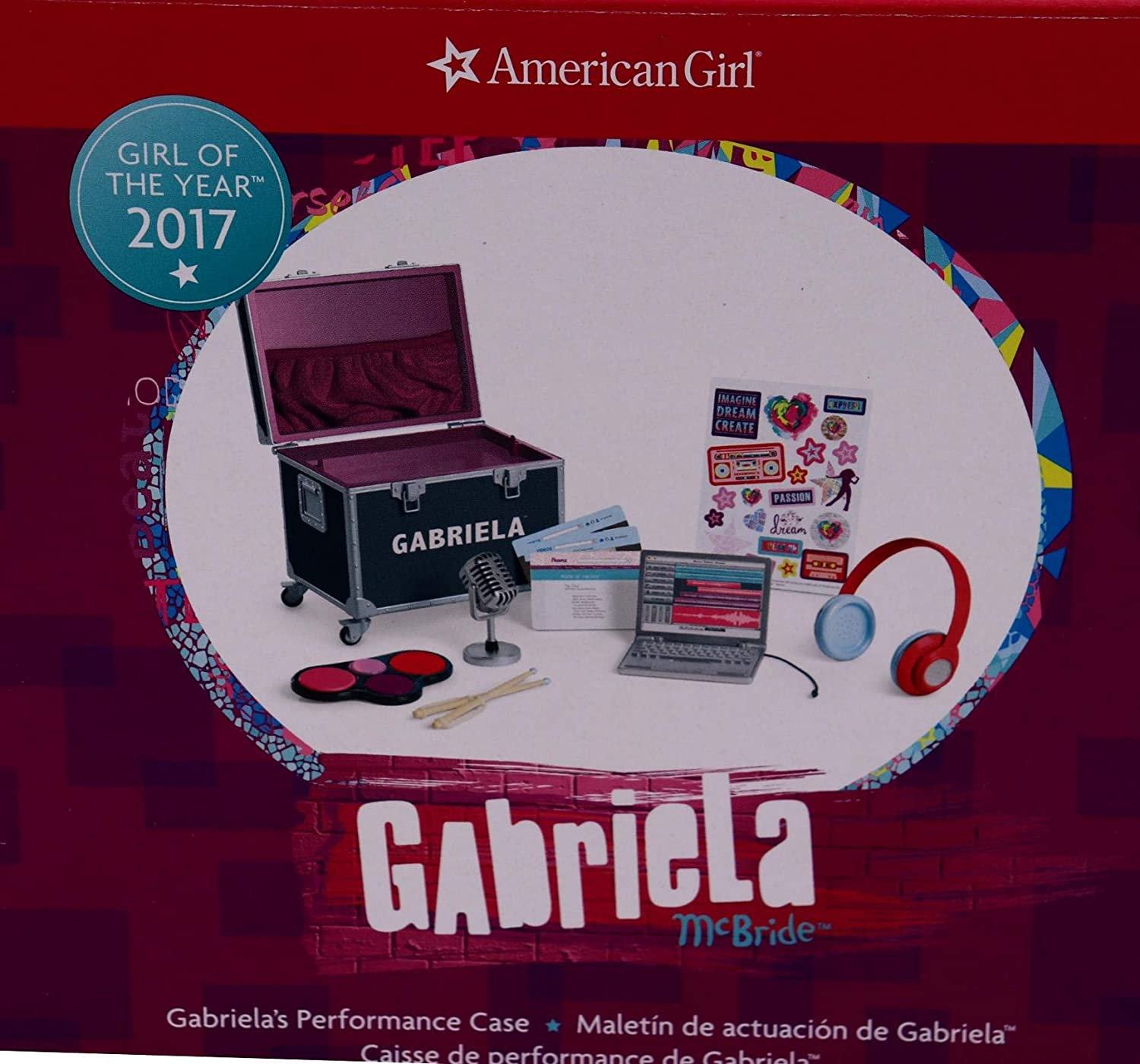 "18/"" American Girl Doll Accessory LAPTOP /& SCREENS from GABRIELA PERFORMANCE New"