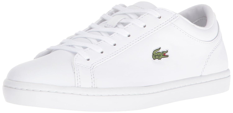 Lacoste Women's Straightset Sneaker B01IO3S6R8 7.5 M US|White