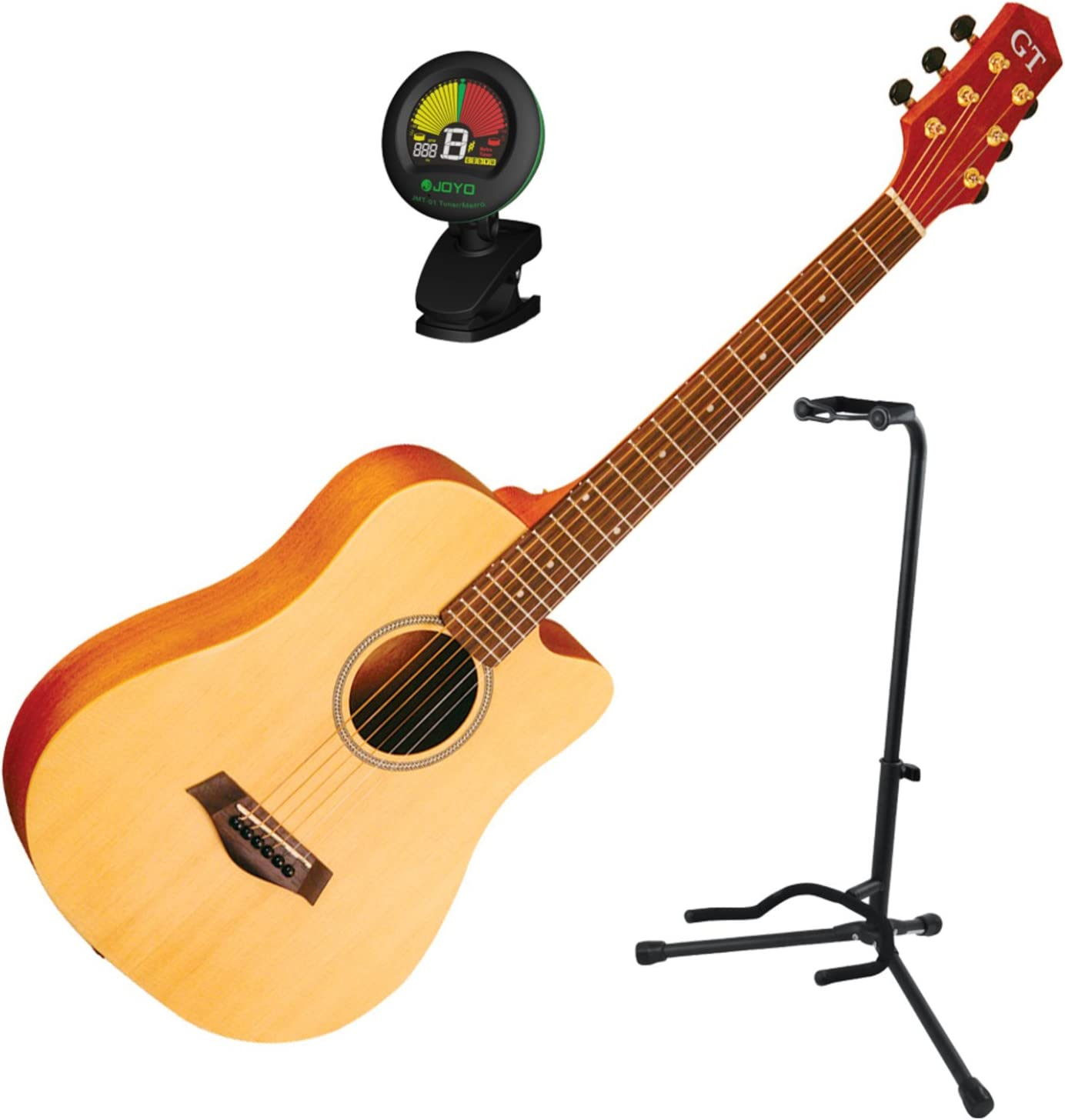 Goldtone M-Guitar Micro Cutaway Guitar w//Gig Bag and Stand Tuner