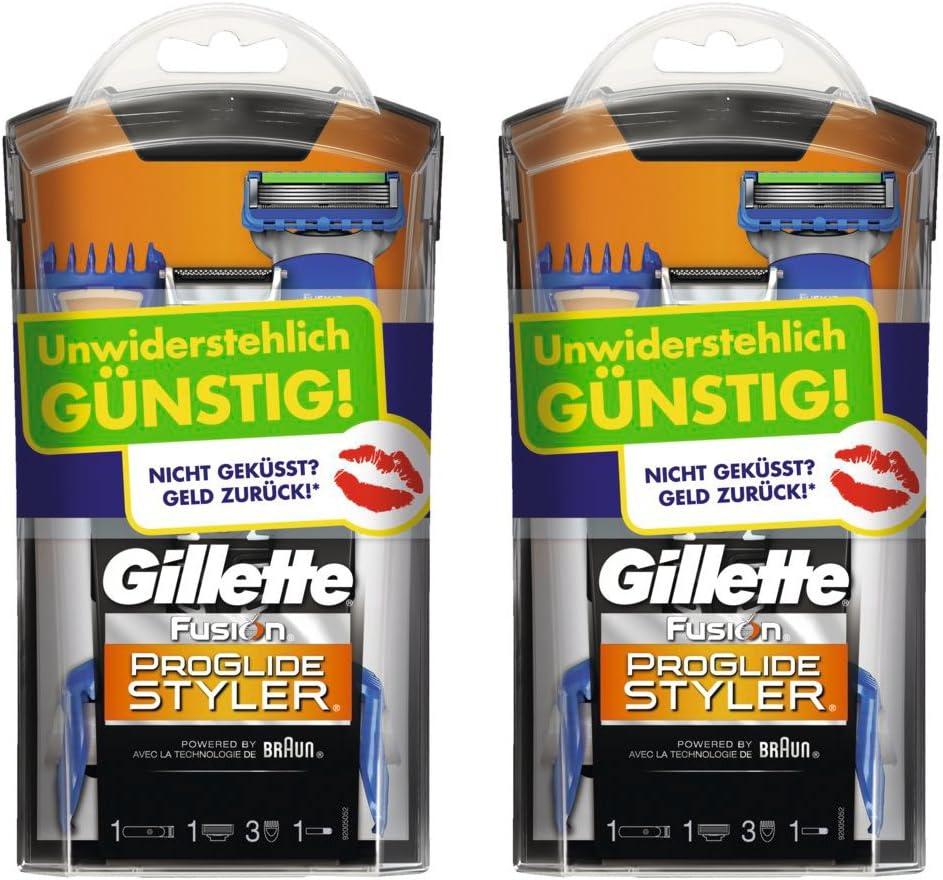 Gillette Fusion ProGlide Styler prueba de semanas de afeitar (2 ...