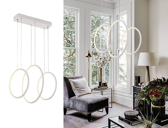 Cooperative Led Lustres Modern Led Ceiling Light For Living Room Bedroom Kitchen Luminaries White Acrylic Led Ceiling Lamp Lighting Fixtures Lights & Lighting