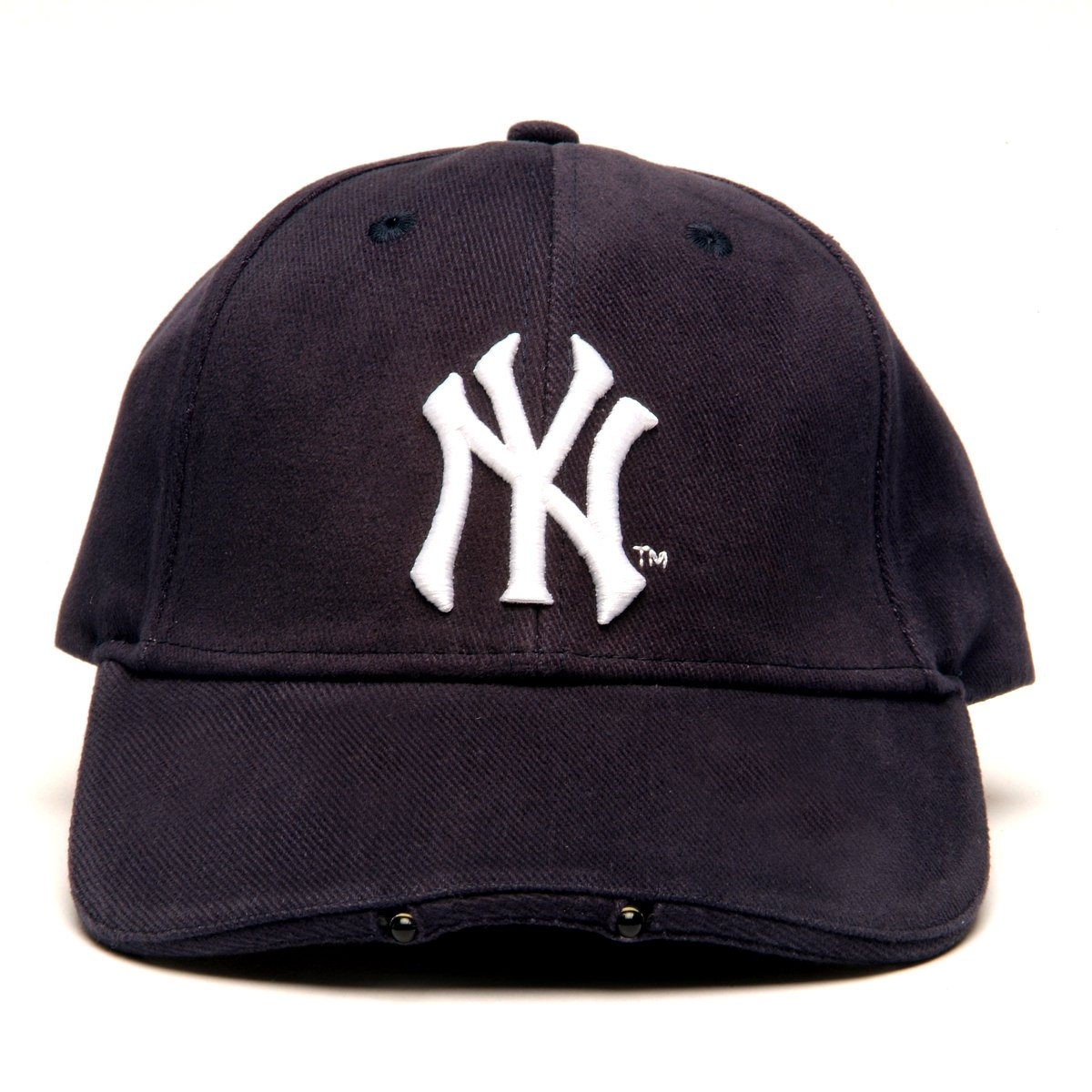 Amazon.com   MLB New York Yankees Dual LED Headlight Adjustable Hat    Yankees Lighted Hats   Sports   Outdoors d7c8cbea5509
