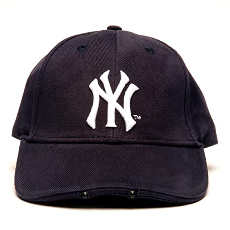 a89d686b0f1 Image Unavailable. Image not available for. Color  MLB New York Yankees  Dual LED Headlight Adjustable Hat