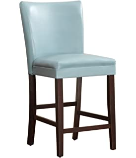 Merveilleux Homelegance 3276B 24 Bi Cast Vinyl Parson Counter Height Chair (Set Of 2