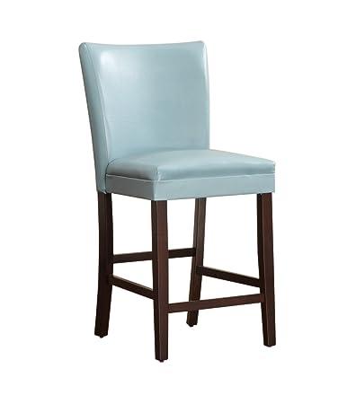 Homelegance 3276B 24 Bi Cast Vinyl Parson Counter Height Chair (Set Of 2