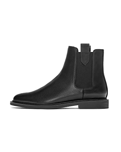 b788cde5a8250 Zara Women's Flat Ankle Boots with tabs 2150/001 Black: Amazon.co.uk ...