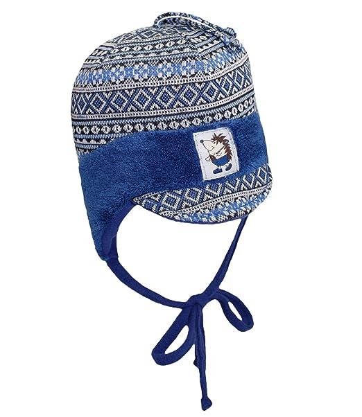 EveryHead Fiebig Berretto Bambino Ragazzi Cravatta Con Laccio Cap Norvegesi Cappello  Invernale Fantasia Scudo Per Neonato 94736483577d