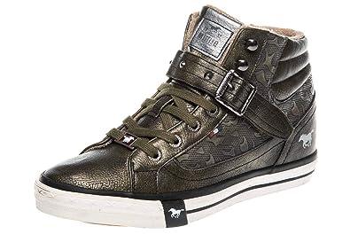 Mustang Oliv Femme Vert 43 Eu ShoesBaskets Pour qMVzSUpG