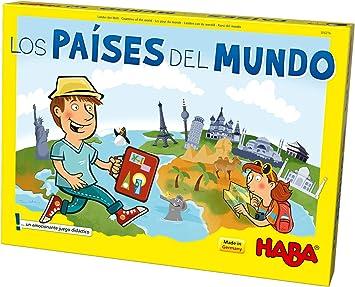 HABA- Juego de Mesa, Los Países del Mundo, Multicolor (Habermass H304216): Amazon.es: Juguetes y juegos