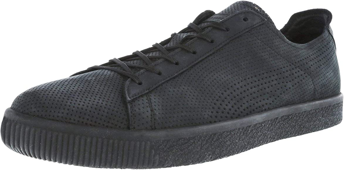 Stampd Clyde Black Ankle-High Leather