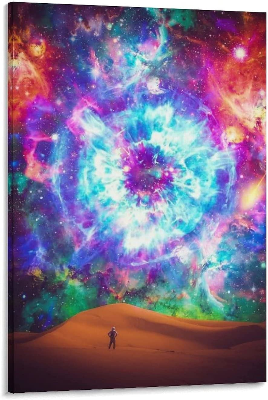 Posters Canvas Wall Art Lifestyle Space Vibes Desert Eye Galaxy Colorful Poster Home Decoration Painting Oil Painting Poster Decorative Painting Canvas Wall Art Living Room Posters Bedroom Painting 16
