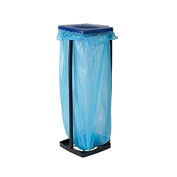 Top Star Müllsackständer in Blau, Müllbehälter mit Deckel ...