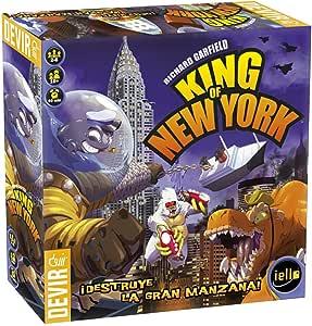 Devir- King of New York Juego de Tablero (BGHKINGNY): Amazon.es: Juguetes y juegos