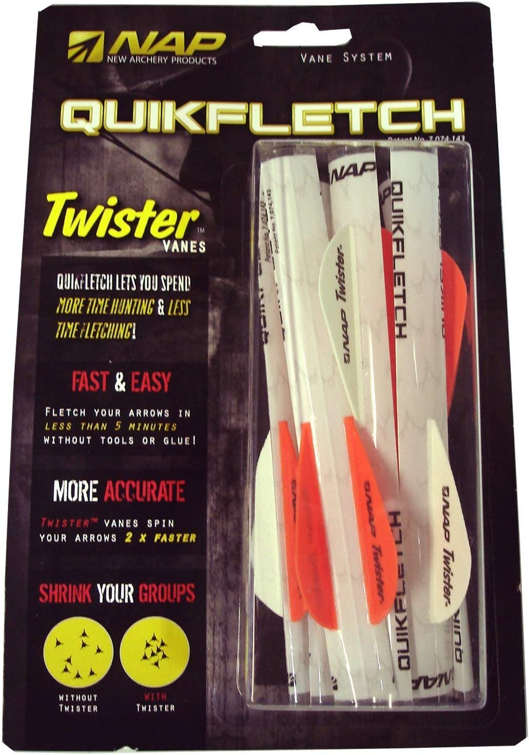Amazon.com: New Archery Products Quickfletch Paquete de 6 ...