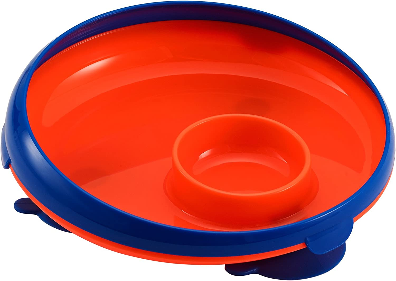 Orange 1 Pack The First Years Inside Scoop Dip Plate