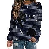Womens Short Sleeve Tops,Teengirls Funny Cute Shirt Tee Shirt Crewneck Casual Printing Top Blouses for Womens Loose Fits