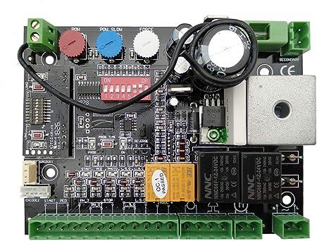 Cuadro de Maniobras Universal para Puerta Automática de Corredera 24V Multimarca Nice BFT Sommer FAAC Beninca…: Amazon.es: Bricolaje y herramientas