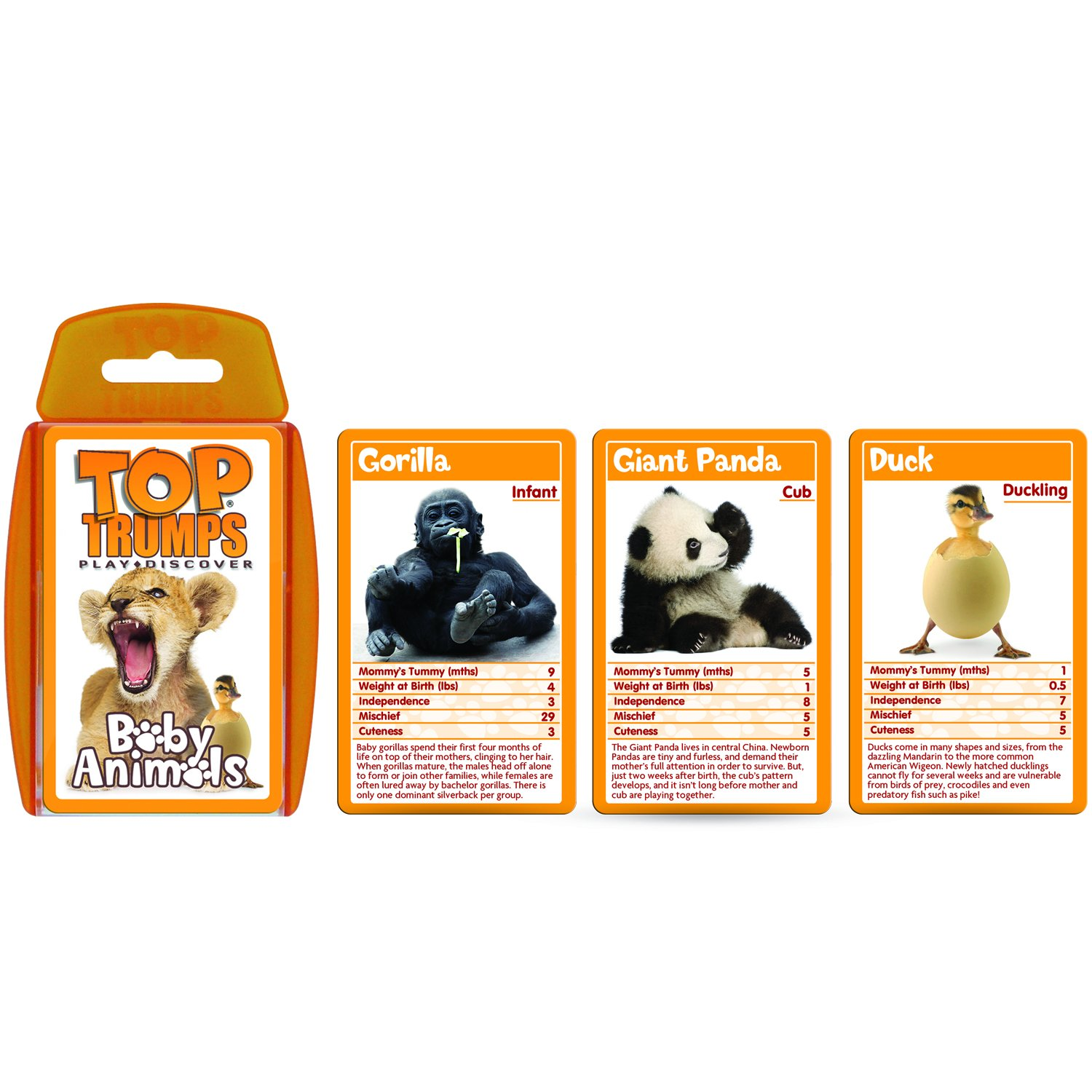 Lovable Dogs Top Trumps Card Game