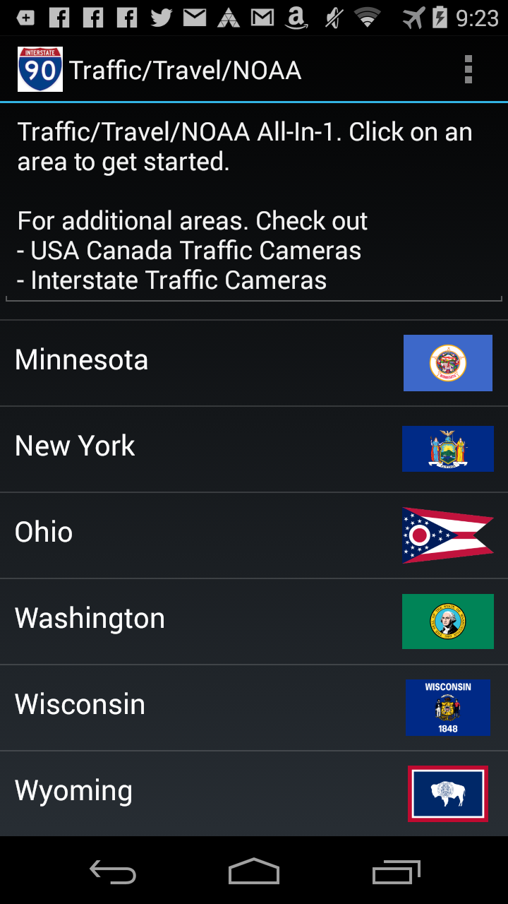 Amazon com: I90 Traffic Cameras: Appstore for Android