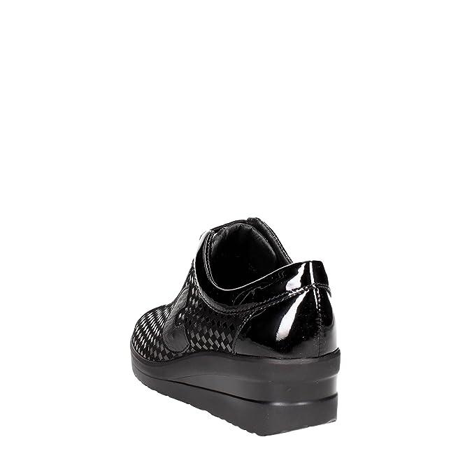 Cinzia Soft IV9493-ACF 001 Petite Sneakers Femme Noir 39 D.a.t.e.   Baskets pour homme noir Schwarz - noir - Schwarz  41 Chaussures Wrangler bleu marine Fashion homme P0apsE5nM