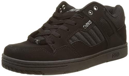 7c421a7dd1ee0 DVS Shoes ENDURO 125, Men's Skateboarding Shoes, Black (Black Leather Nubuck ),