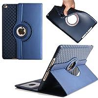 Funda Nuevo iPad 2017, Avril Tian 360 Degrees rotación Función atril con ranuras para tarjetas Smart Case Cover Protector de pantalla desmontable carcasa para Apple 2017 New iPad 9.7 pulgada Tablet