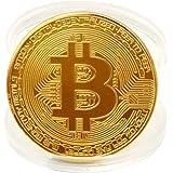 1 x Vergoldet Bitcoin Münze 2017 Design Bitcoin Münze