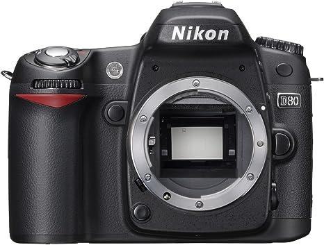 Nikon D80 - Cámara Réflex Digital 10.2 MP (Cuerpo ...
