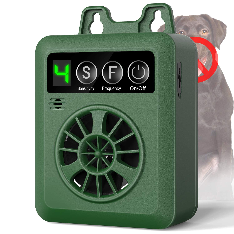 uniwood Anti Barking Device, Newest 2019 Bark Control Device with 4 Adjustable Ultrasonic Volume Levels, Automatic Ultrasonic Dog Bark Deterrent for Small Medium Large Dog by uniwood