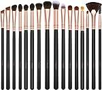 BESTOPE Eye Makeup Brushes, 16 Pcs Professional Eye Brush Set Eyeshadow,