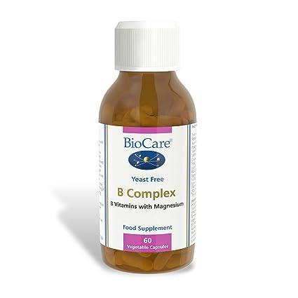 Biocare B Complex (enzyme activated plus magnesium), 60 vegi tapas