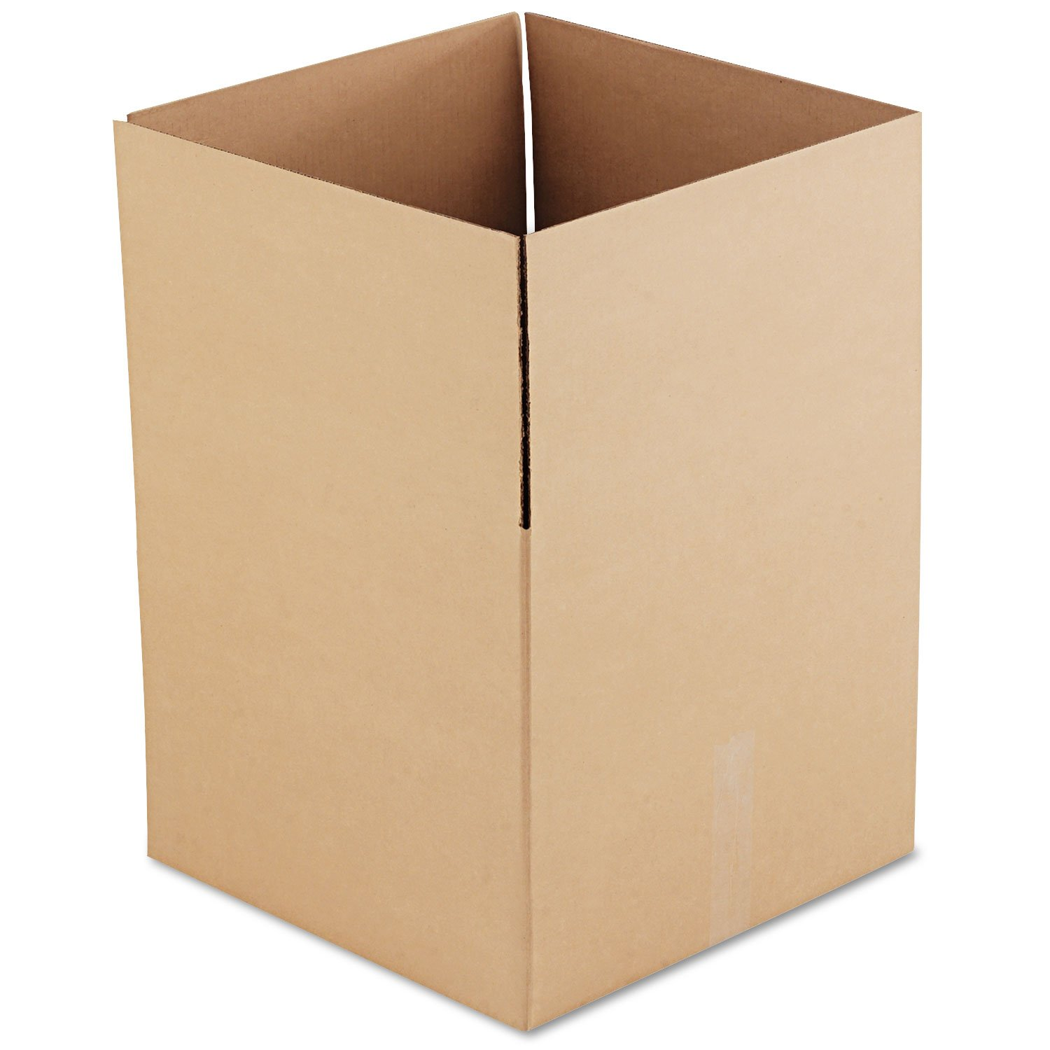 General Supply 181816 Brown Corrugated - Fixed-Depth Shipping Boxes, 18l x 18w x 16h, 15/Bundle