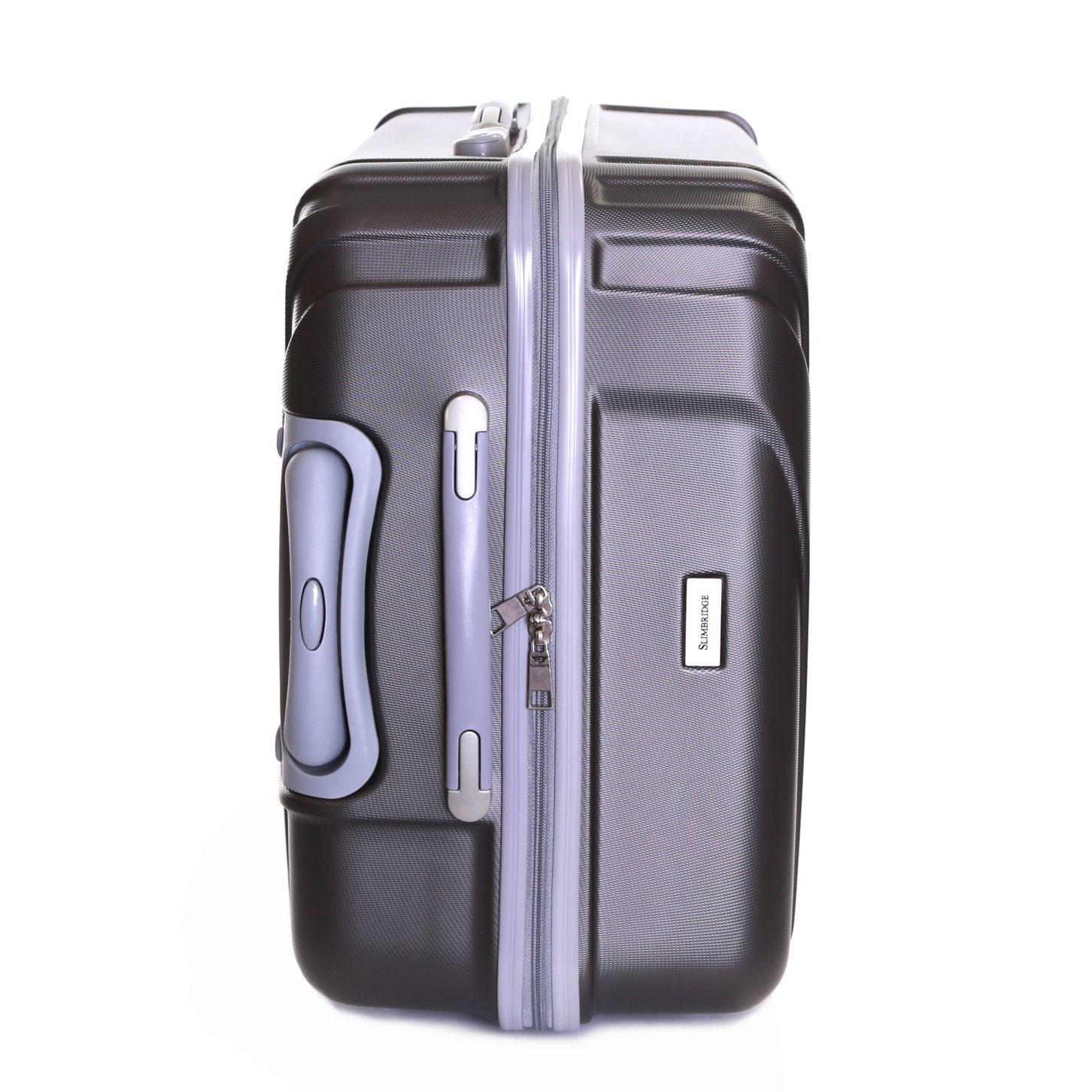 Slimbridge Fusion Valise Rigide Grande Taille XL Bagage 76 cm 4,5 kg 100 litre 4 roulettes Prune