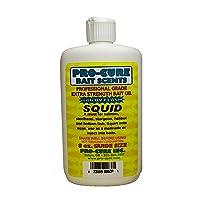 Pro-Cure Squid Bait Oil, 8 Ounce