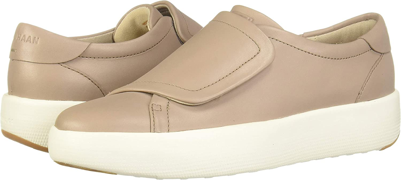 B,M Cole Haan Womens Grand Evolution Beige Monk Shoes Flats 7 Medium BHFO 3224