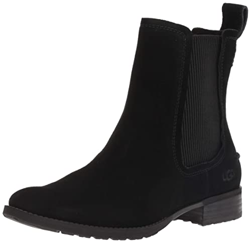 94ce51922c2 UGG - HILLHURST Boot - Black Suede - Ankle Boots (4 UK/EU37): Amazon ...
