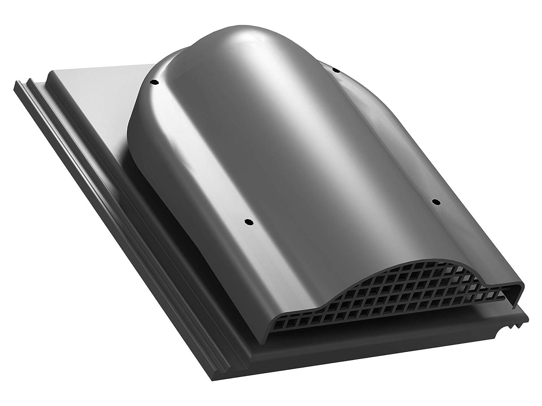 IBF RAL 9005 - Schwarz Doppel-S Dachziegel Dachl/üfter L/üfter Entl/üfterkamin PRO DN150 f/ür Braas S Doppel-S Doppel-S Nelskamp ProDach