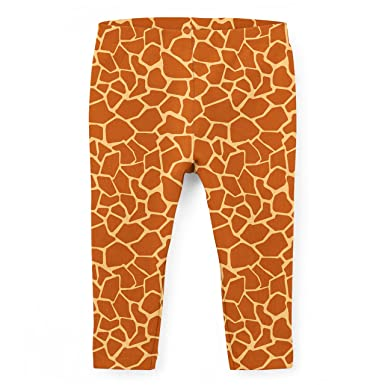 eb4ff512858f7 Amazon.com: Giraffe Print Kids Leggings: Clothing