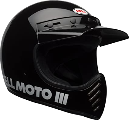 Bell Moto 3 >> Bell Moto 3 Off Road Motorcycle Helmet Classic Gloss Black Small