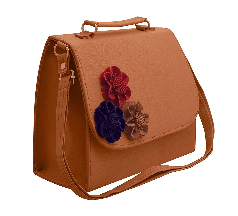 dbfe4bf50e98 BFC Women s Synthetic Handbag  Amazon.in  Shoes   Handbags
