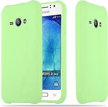 Cadorabo Funda para Samsung Galaxy J1 Ace en Candy Verde Pastel: Amazon.es: Electrónica