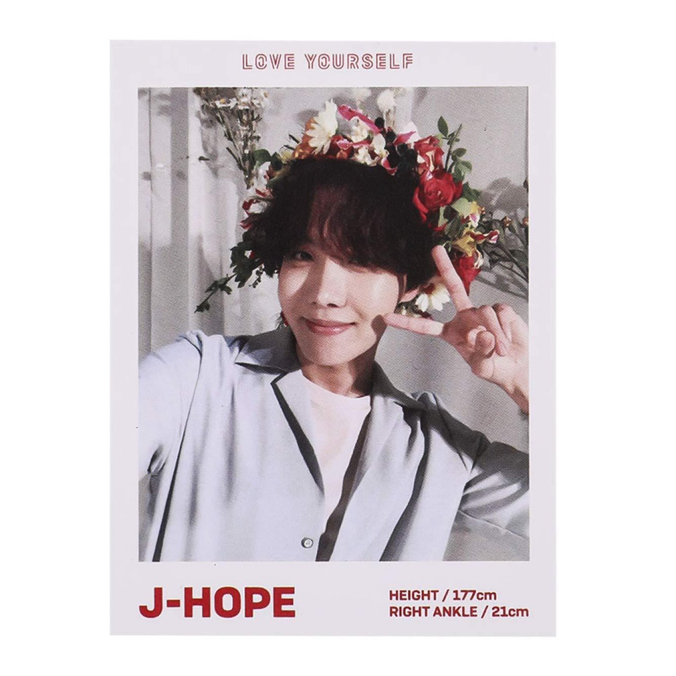 Poster Fotografico KPOP BTS con rivista Polaroid Lomo Cards Suga Jungkook V HD 7 Pezzi per Decorare la casa 1 Unit? per Confezione JiXUN