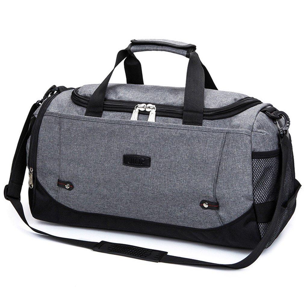 Large Capacity Men Hand Luggage Travel Weekend Bags Women Multifunctional Travel Bags Dark Grey