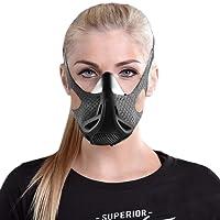 Máscara de altitud para entrenamiento deportivo – para fuerza y agilidad, máscara de entrenamiento – alta altitud de simulación de elevación – para correr, ciclismo, cardio, fitness, entrenamiento de resistencia – máscara de resistencia hipoxica