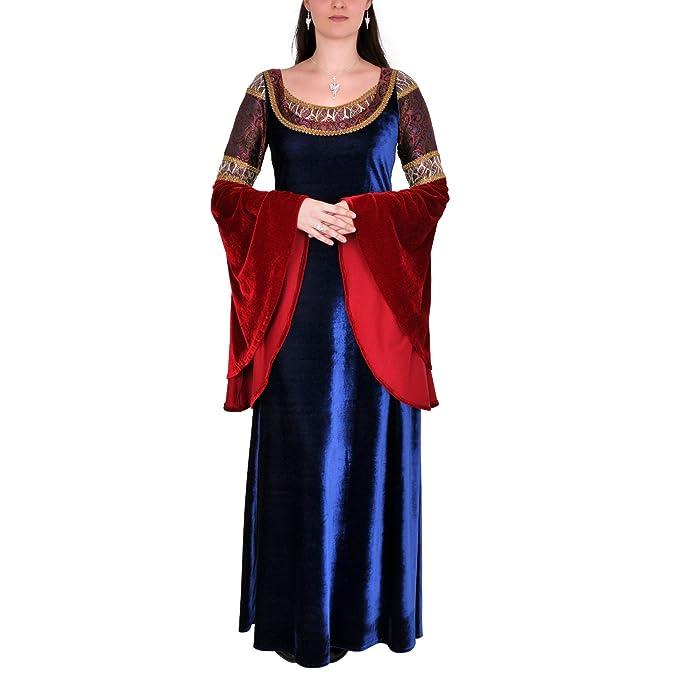 Vestito elfico - Abito LARP ispirato allo stile di Arwen - Abito da sera -  Eventi f47acba7cbbb