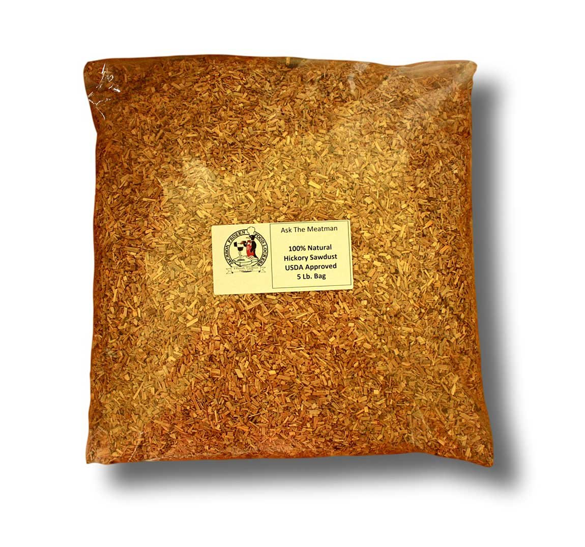 Hickory Natural Sawdust (5 LB) by Hickory