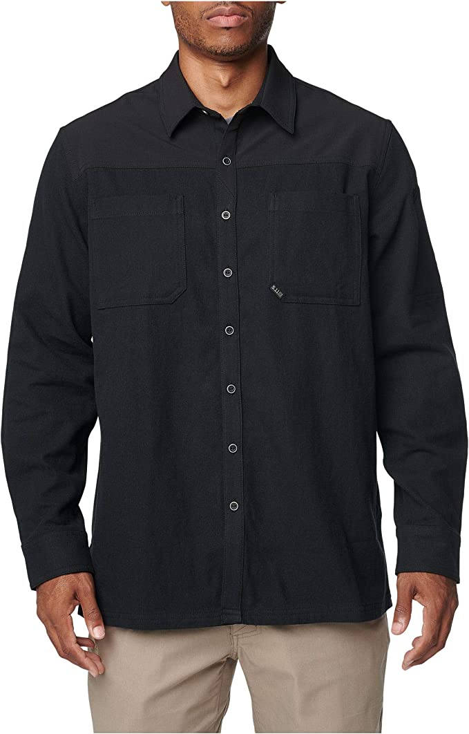 5.11 Tactical Mens Ascension Long Sleeve Shirt, Abrasion Resistant, Style 72496: Amazon.es: Ropa y accesorios