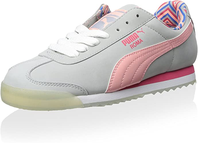 Amazon.com | PUMA Roma NBK Grey/Pink