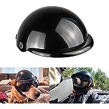 Enjoying Pet Helmet Motorcycle Dog Helmet Doggie Helmet for Bike Cat Hat Riding Puppy Helmet, Black