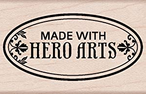Hero Arts Woodblock Stamp, Made with Hero Arts